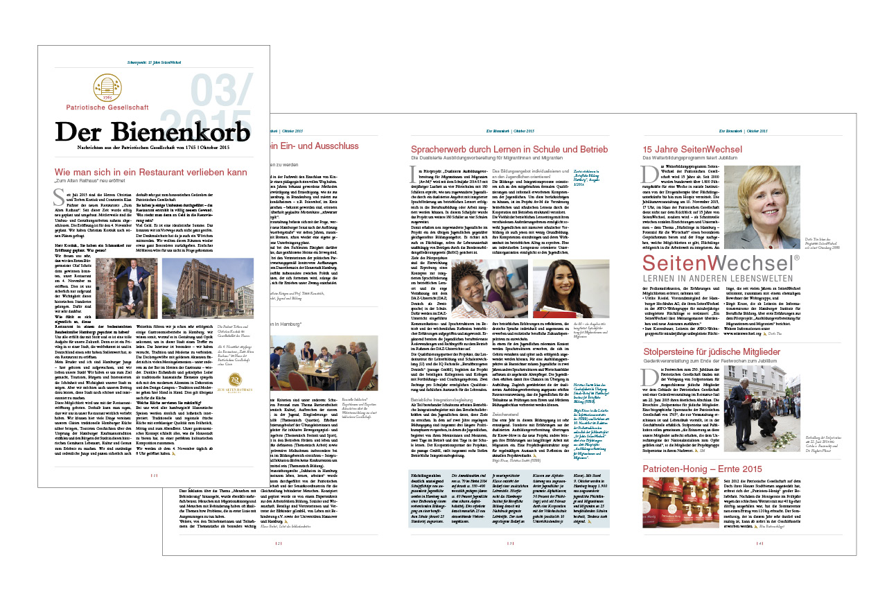 Newsletter Patriotische Gesellschaft